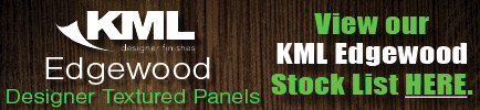 View our KML Edgewood Designer Panel Stock List here.