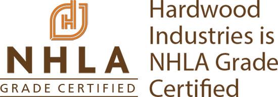 Hardwood Industries is NHLA Grade Certified.