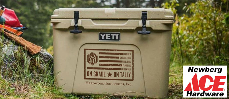 All participants will be entered into a drawing for a YETI Cooler!