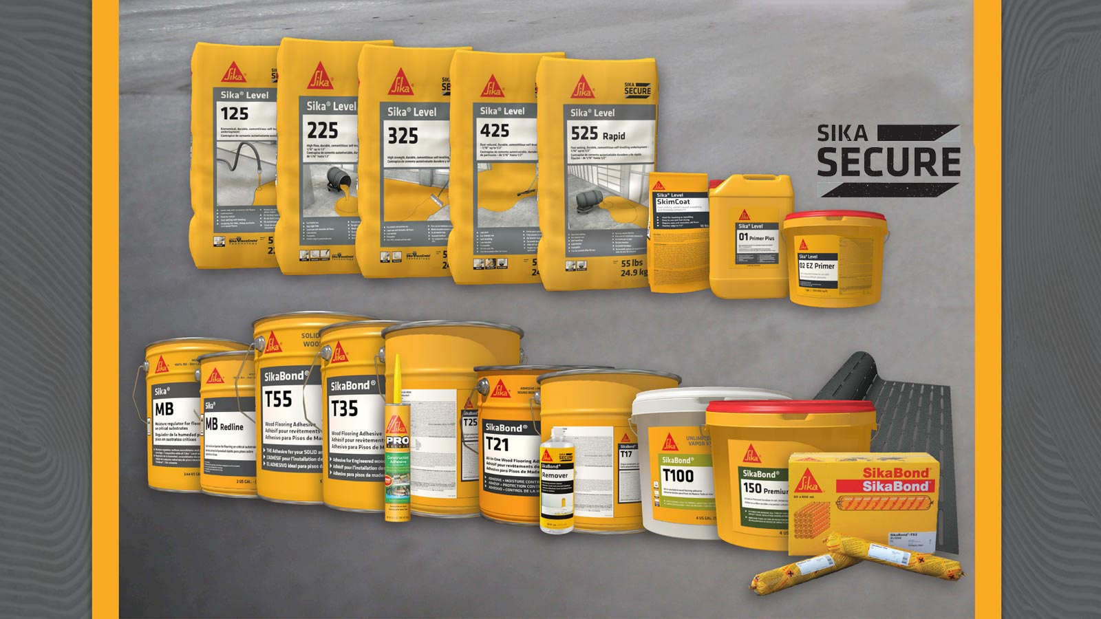 NOW STOCKING Sika Flooring Products