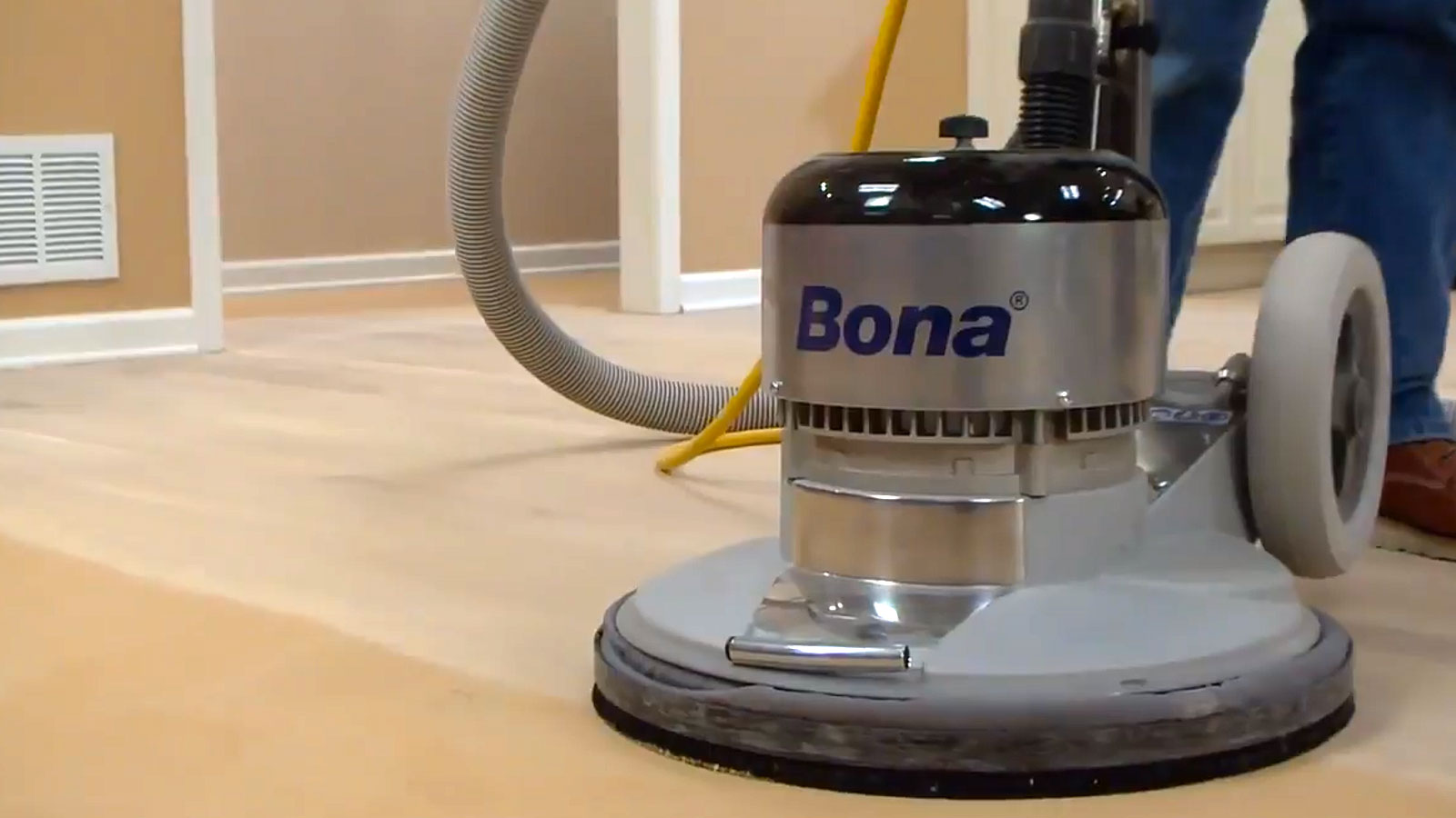 Bona Power Drive floor prep machine Demo Day coming soon!