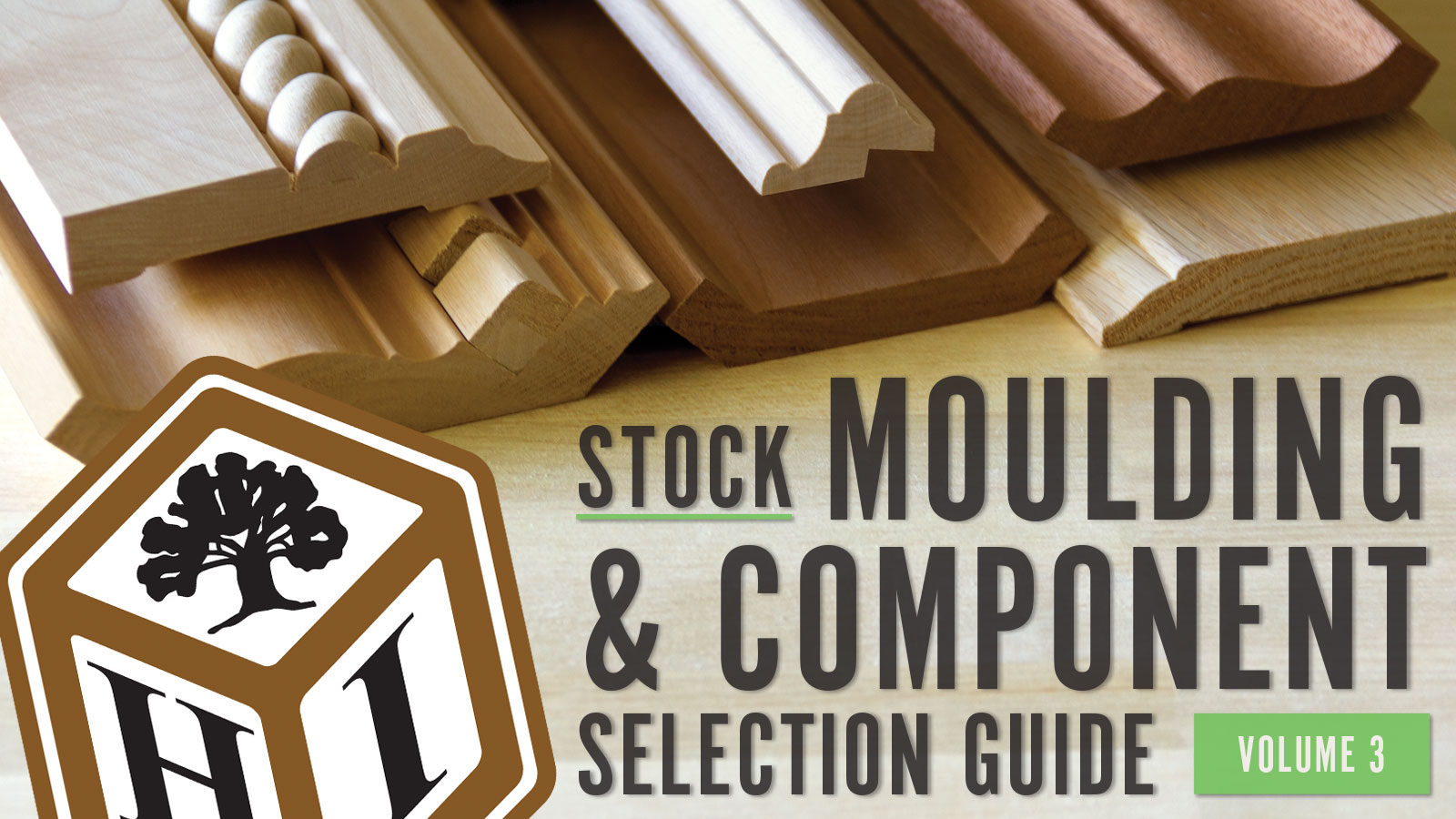 NEW Stock Moulding and Compinenet Selection Guide, Volume 3